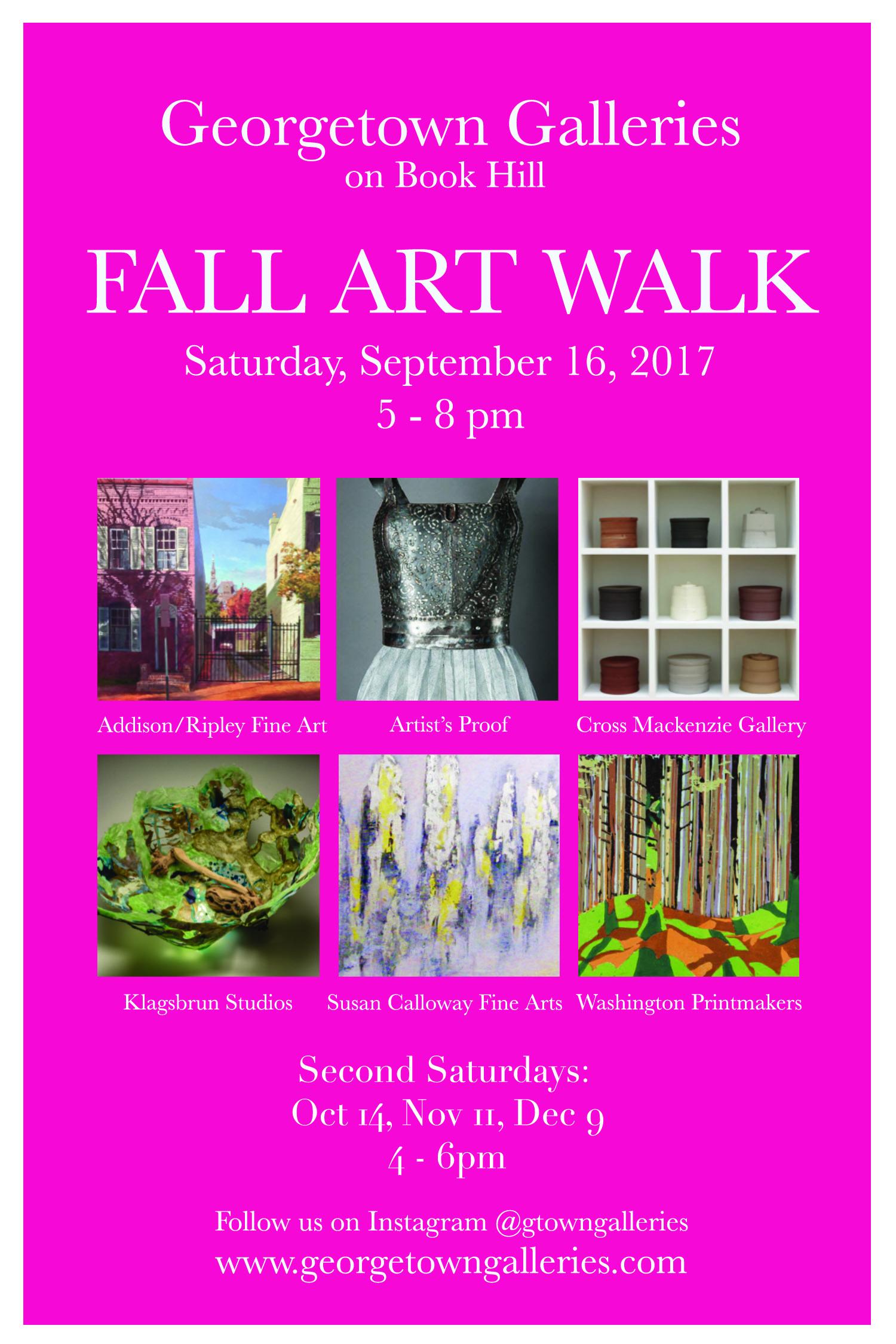 Galleries of Book Hill: Fall Art Walk: September 16, 5-8pm