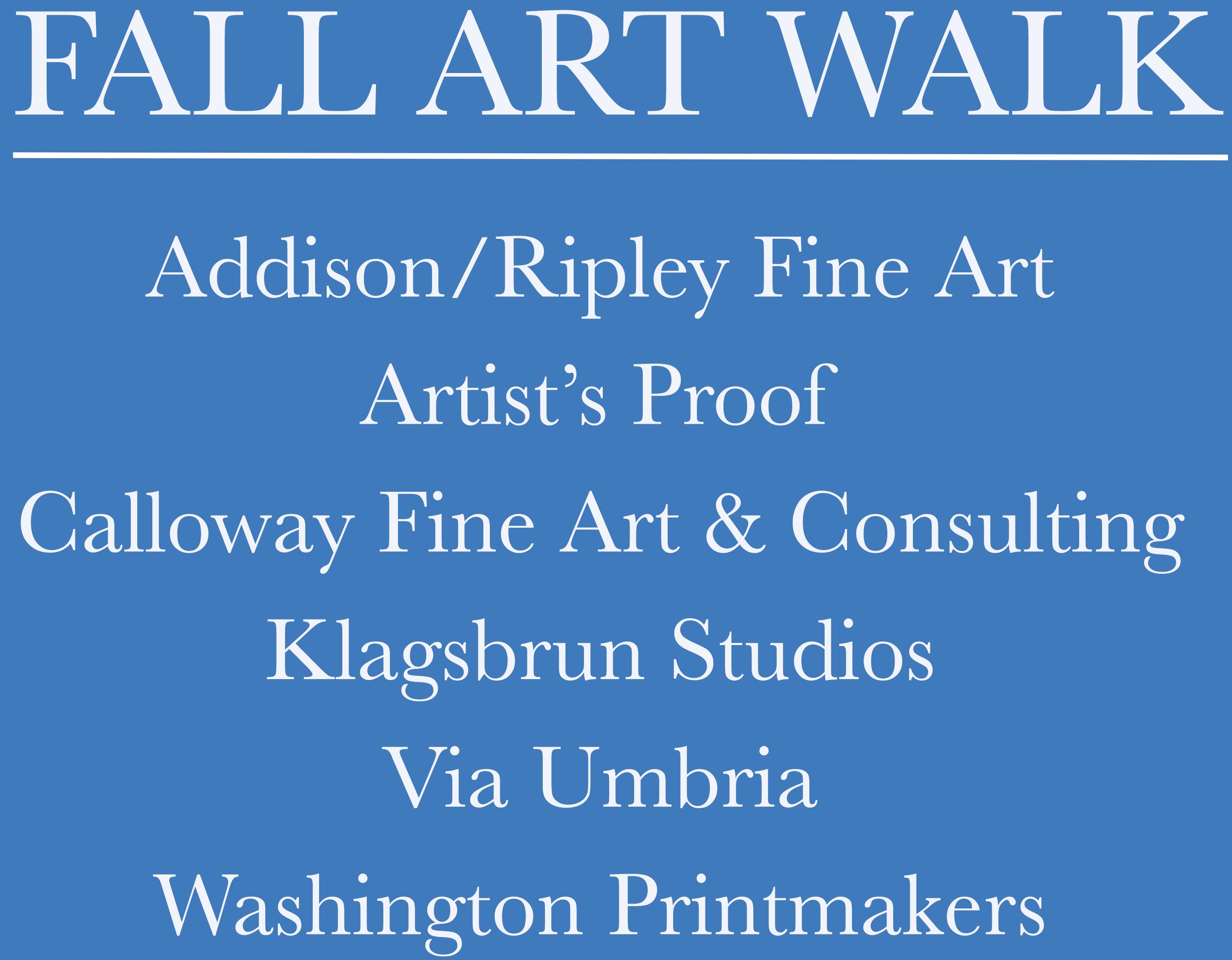 GEORGETOWN GALLERIES FALL ART WALK